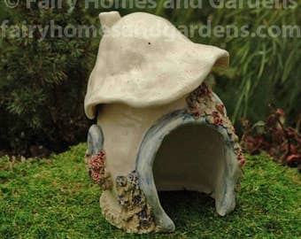 Porcelain Toadstool Toad House