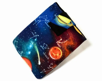 Tablet Case, iPad Cover, Space, Solar System, Planets, Galaxy, Universe, Night Sky,  iPad Mini,  7, 8 9, 1 inch Sleeve, Cozy, FOAM Padding