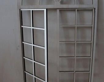 Working Door for Roombox BJD Dolls 1/6 and 1/4