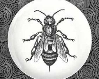 Bee II dinnerware melamine plate
