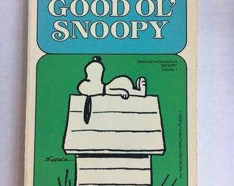 Vintage Everybody's best Friend Good Ol' Snoopy Peanuts by Charles Schultz Selected cartoons Vol. 1