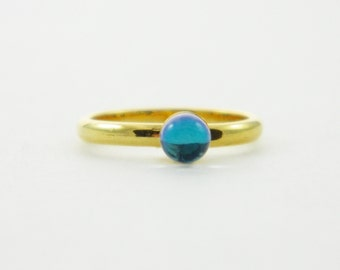 Color Prism Ring - Borealis Ring - Midi Ring