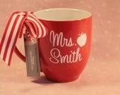 1 Red Cozy Mug - Personalized