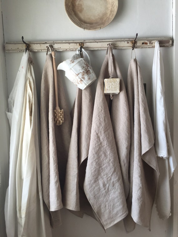 Linen Hand Towel With Loop