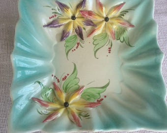 Vintage Italian Ceramic Decorative Dish