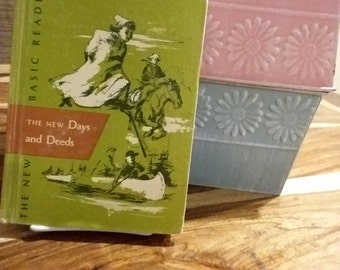The New Days and Deeds The New Basic Readers Curriculum Foundation Series 1955, free shipping