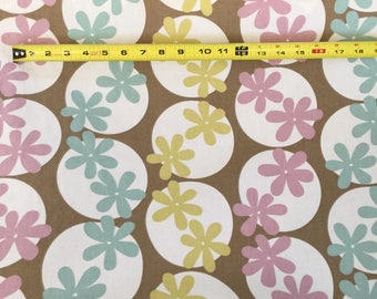10 Yards Home Decor Fabric Pinwheels By P Kaufman ~Small Stains
