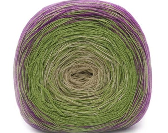 Transitions 3-Ply Laceweight Cotton Acrylic Shawl Yarn Color 1