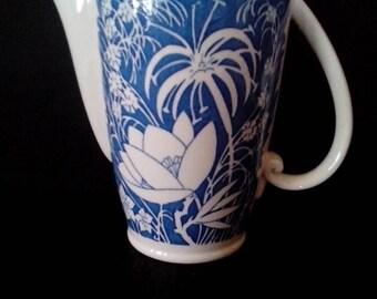 Vernon Kilns Hawaiian Flowers Coffee Pot