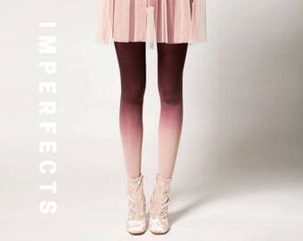 BZR Ombré Tights in Clay - SALE