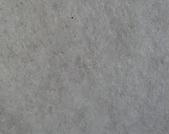 WHITE  1 yard Acrylic Felt