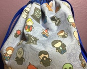 Double Drawstring Bag