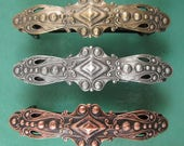Old Fashion Baroque French Barrette 70MM- Hair Accessories- Barrettes and Clips- French Clips