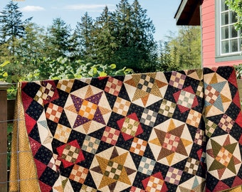 PATTERN Book: Miss Rosie's Farmhouse Favorites - 12 Favorite Quilts - Martingale  - Scrappy Projects - Come on a My House - Reproduction