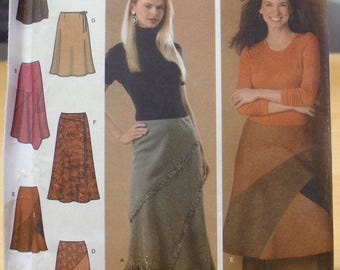 Free shipping! Simplicity 4966 skirt sewing pattern 6 8 10 12 UNCUT