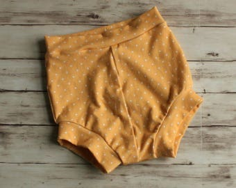 Polkadot shorts, Yellow Bloomers, Bummies, Girl Shorts, Floral Shorties, Bubble Shorts, Toddler Shorts, Kid Shorts, Shorties, Baby Shorts
