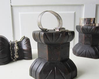ONE Bracelet / Ring Jewelry Display Block - Architectural Salvage  -