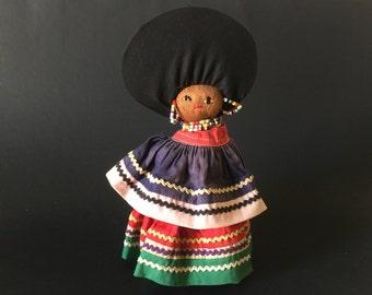 Vintage Seminole Indian Doll/ Native American Doll