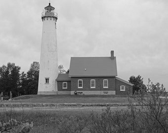 East Tawas Lighthouse  (FREE SHIPPING in the U.S. only)