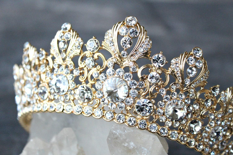 Wedding Crown Full Bridal Crown Swarovski Crystal Wedding