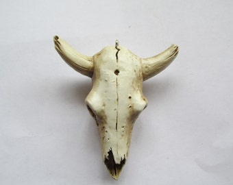 Cow Skull steerhead jewerly pendant ornament #Vskull