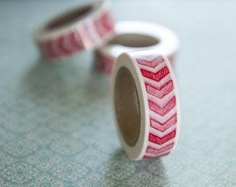 Masking tape, washi tape geometric, arrow 15mm x 10 m 1 roll