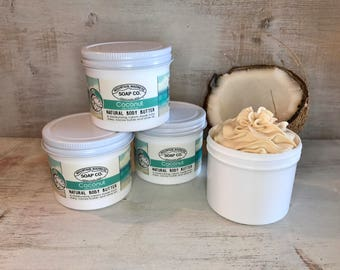 Coconut Shimmer Organic Body Butter- LIMITED EDITION