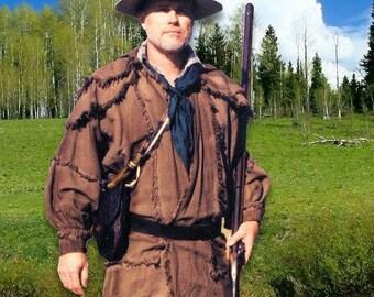 Rifleman's Hunting Frock Kit Sewing Pattern Rendezvous Black Powder DIY