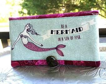 Women's Wallet, Mermaid Wallet, Wallet Clutch
