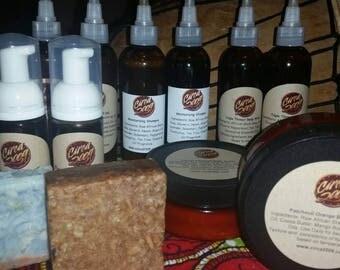 4 oz Body Butter, Deodorant, Soap Travel Set, Gift Set