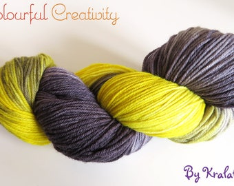 Colourful Soft Sock - Grellow Snowflake