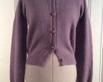 1990's Pavo Real Wool Cardigan