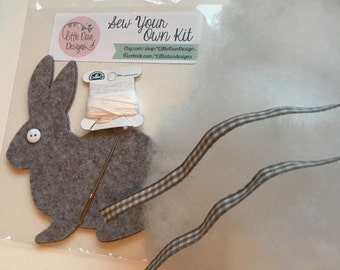 Sew your own bunny kit