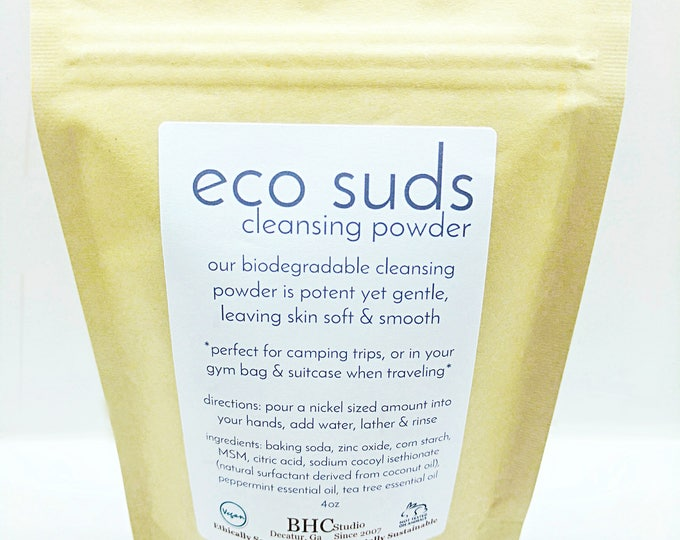 BHC eco suds - cleansing powder
