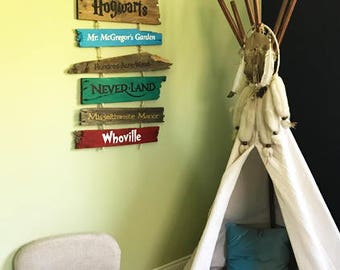 Story Book Sign
