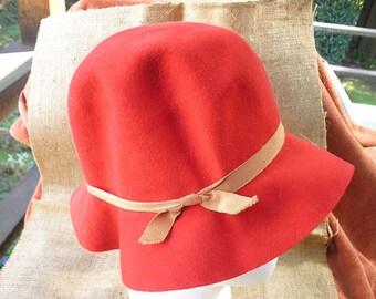Effanem red crusher hat