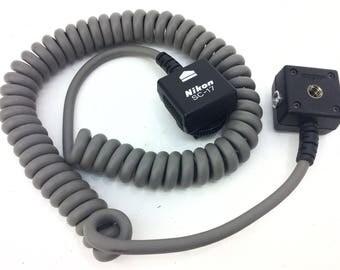 Vintage Nikon SC-17 TTL Flash Sync Cord