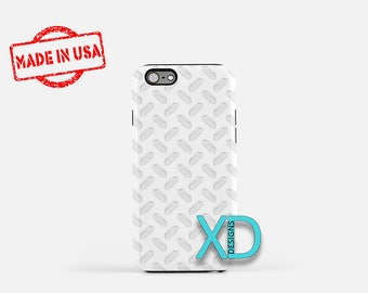 White Crystal Phone Case, White Crystal iPhone Case, Rock iPhone 7 Case, Clear, Rock iPhone 8 Case, White Crystal Tough Case, Clear Case