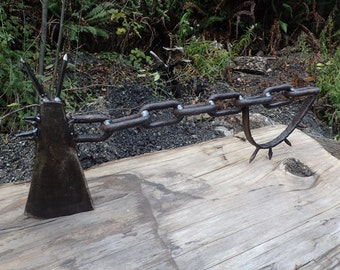 Apocalyptic Mad Max Axe. Forged by Blacksmith.