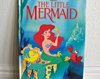 "Walt Disney's ""The Little Mermaid"" - Children's Book, Story Book, Vintage Book, Disney Book"