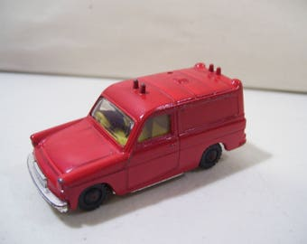 Vintage Husky Ford Thames Van Die-cast Car, Great Britain, Red