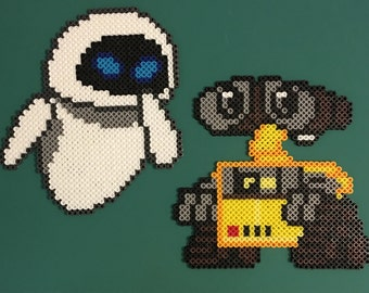 Wall-e and Eve Perler