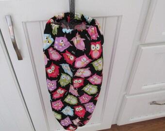 Owl Bag Holder