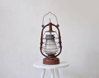 RESERVED//Vintage soviet kerosene lamp