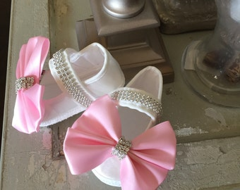 Baby Crystal Shoes   Baby Rhinestone Shoes   Crystal Shoes   Rhinestone Shoes   Baby Shoes   Infant Shoes   Toddler Shoes   Pageant Shoes