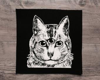 Feline Familiar large patch