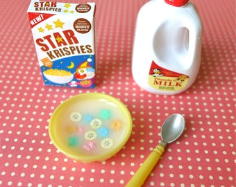 Star Krispies Cereal & Milk Blythe Barbie Size