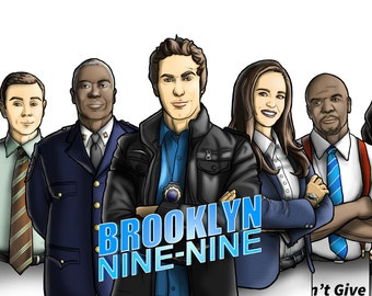 Bookmarks Brooklyn Nine Nine TV Series Entire Collection