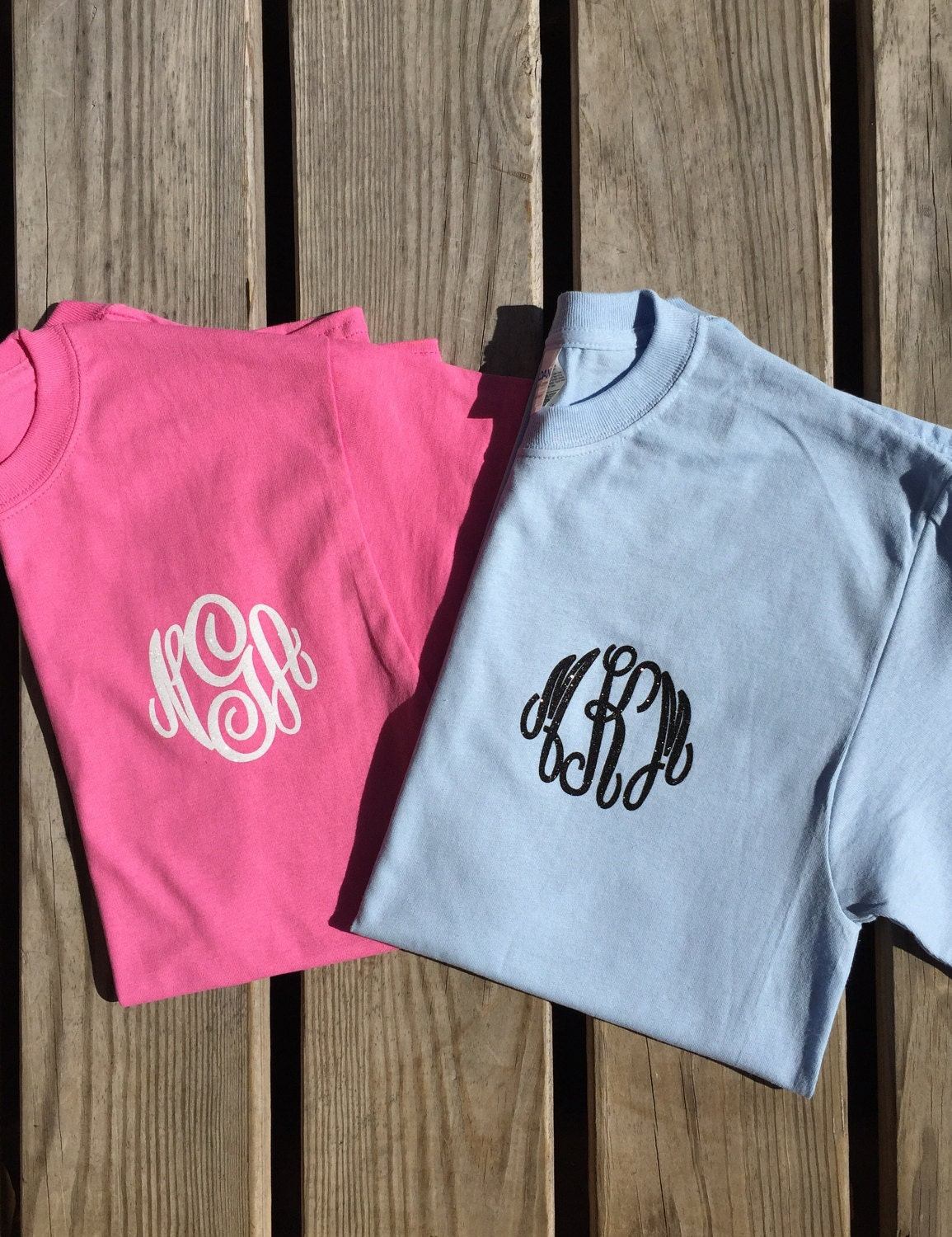 Monogram t shirt monogrammed shirt monogrammed gift for Embroidery placement on t shirts