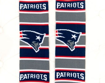 New England Patriots Baby Leg Warmers